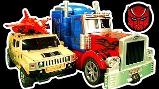 getlinkyoutube.com-Transformers Dark Side Knock Off Toys Ep 1 Age Of Extinction Blending & Wrecking Toy Revenge