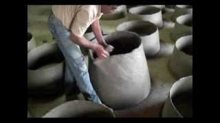 getlinkyoutube.com-How a Portuguese Wood Fired Clay Oven is Made