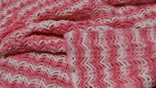 Manta Cobija Colcha para Bebe Fácil Crochet