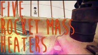 getlinkyoutube.com-5 Rocket Mass Heater Variations