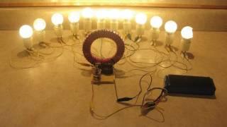 getlinkyoutube.com-Super Joule Ringer!  Lights my workshop 24/7.