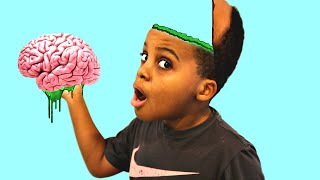 getlinkyoutube.com-Bad Baby GOOEY LOUIE Toy Challenge Game - Shasha and Shiloh - Onyx Kids