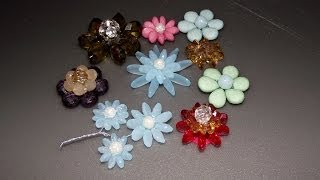 How to Make Flowers with Teardrop Beads - ArtySan Crafts