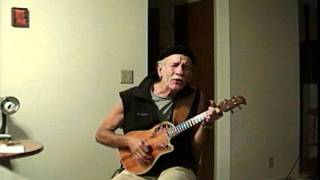 getlinkyoutube.com-Hit the Road Jack - electric ukulele steel strings