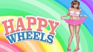 getlinkyoutube.com-Happy Wheels - CHICA DESNUDA GLITCH