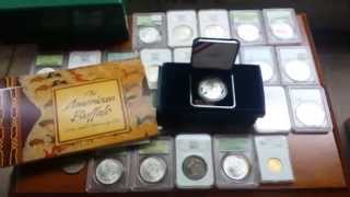 getlinkyoutube.com-Massive Hoard of PCGS Graded Morgan Dollars found at Garage Sale!