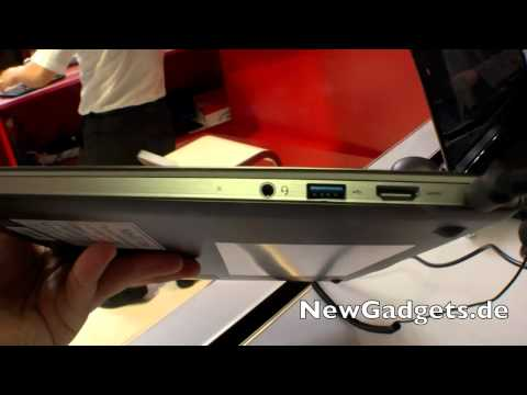 First Look at the Lenovo U300s Ultrabook at IFA 2011
