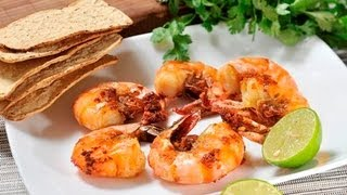 getlinkyoutube.com-Camarones al mojo de ajo - Shrimp with Garlic Sauce