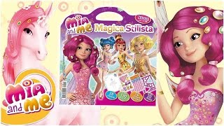 getlinkyoutube.com-Mia and me - Scopriamo insieme il fashion book Magica Stilista!