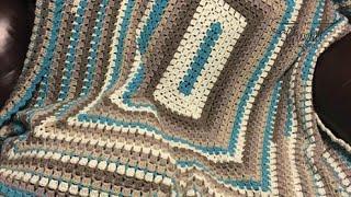 How to Crochet an Afghan: Modern Granny