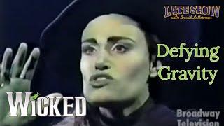 "getlinkyoutube.com-Idina Menzel - ""Defying Gravity"" - WICKED (Late Show with David Letterman)"