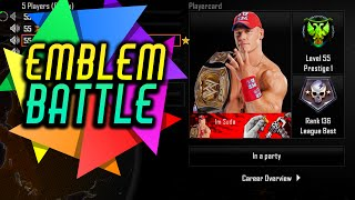 getlinkyoutube.com-Black Ops 2 - EMBLEM BATTLE #9 - JOHN CENA! (Funny Emblem Competition)
