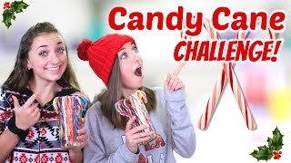 getlinkyoutube.com-NEW CHANNEL + Candy Cane Challenge | Brooklyn & Bailey