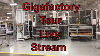 Tesla Gigafactory Factory Tour! LIVE 2016