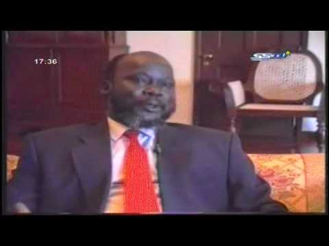 John Garang De Mabior:Mashar group will be known in history as stabbed SPLA in back