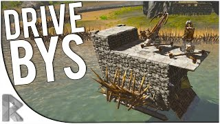 getlinkyoutube.com-WARSHIP DRIVE-BYS! - Ark Survival Evolved Gameplay (S7P5)