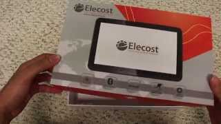 """getlinkyoutube.com-Elecost 10.1"""" Android 16GB Octa Core Tablet Review"""