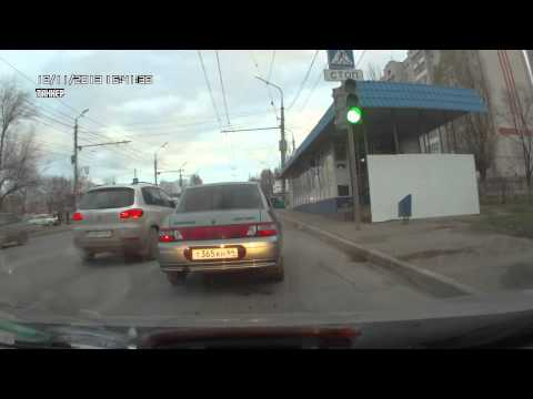 Догонялка на московском шоссе 2013-11-18
