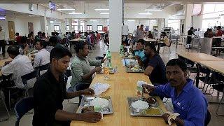 Katar'da çalışmak, Katar'da işçilerin çalışma şartları