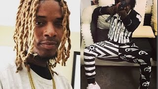 "getlinkyoutube.com-Fetty Wap in Trouble with Chiraq Savages over Tweeting Chief Keef Lyrics Which disses ""Tooka""."