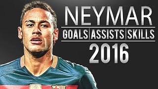 getlinkyoutube.com-Neymar - Magical Skills&Goals | Only 2016 | HD