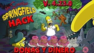 Descargar Hack Los Simpson Springfield Donas Y Dinero InfinitoV 4.23.0 Actualización 04/10/2016