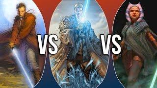 getlinkyoutube.com-Versus Series | Obi-Wan Kenobi vs Anakin Skywalker vs Ahsoka Tano
