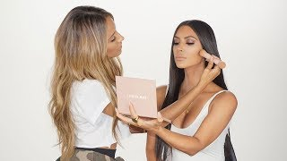 KIM-KARDASHIAN-WEST-MAKEUP-TUTORIAL-NEW-KKW-PRODUCT-REVEAL-DESI-PERKINS width=