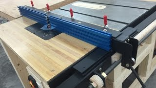 getlinkyoutube.com-Router Table Fence for Table Saw
