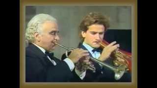 MAURICE ANDRE - Cantate 78 pour 2 trompettes et orchestre de BACH