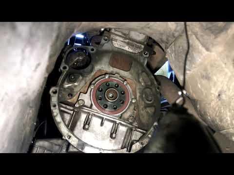 Замена сцепления и заднего сальника коленвала BMW