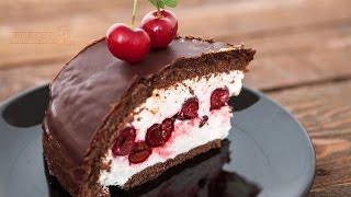 getlinkyoutube.com-Bebina kuhinja - Torta sa višnjama - Domaći video recept