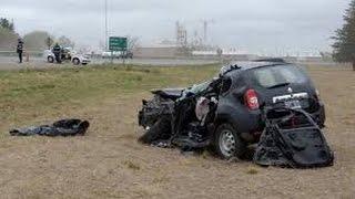 getlinkyoutube.com-Vidéo d'images de Dacia Duster accidentés ! Part 5