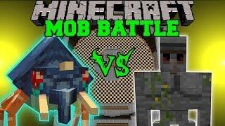 getlinkyoutube.com-WTF VS. STONE GOLEM - Minecraft Mob Battles - OreSpawn and Golem World Mod Battles