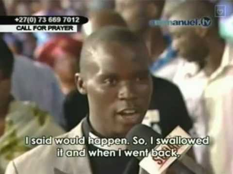 TB Joshua. Prophecy about pastor who used evil power