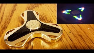 Aiture BlueTooth LED Fidget Spinner Unboxing, Review, & Giveaway.