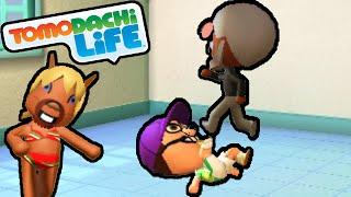 getlinkyoutube.com-Tomodachi Life 3DS Pop Song Smash, Waluigi Treadmill, Bikini Gameplay Walkthrough PART 20 Nintendo