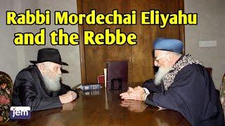getlinkyoutube.com-Rabbi Mordechai Eliyahu with the Lubavitcher Rebbe