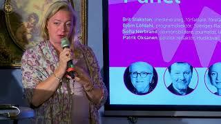 Media i en brytningstid - Sofia Nerbrand, opinionsbildare, journalist, ledarskribent DN