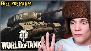 Darmowe złoto i Premium ( ͡° ͜ʖ ͡°)  - World of Tanks