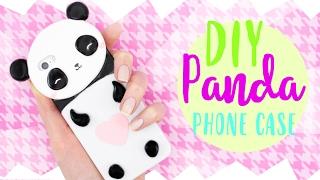 getlinkyoutube.com-☆ DIY PANDA PHONE CASE! - Cute & Easy! ☆