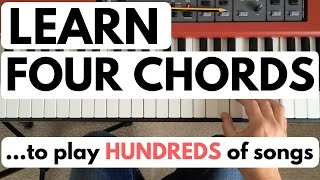 getlinkyoutube.com-Piano chords for beginners: learn four chords to play hundreds of songs