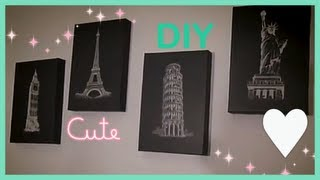 getlinkyoutube.com-How To Chic Room Decor (DIY $3.20)