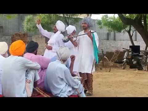 Live punjabi folk song story at Dhudike Moga(2)