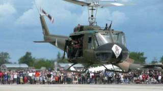 getlinkyoutube.com-UH-1 Huey taking off and taxiing