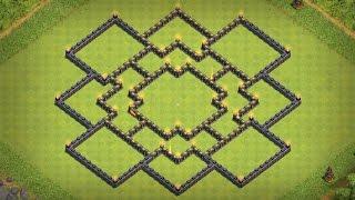 getlinkyoutube.com-(TH10) BOMB TOWER! New farming base town hall 10 | Hybrid base Cv10 | Clash Of Clans