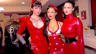getlinkyoutube.com-DOMINATRIX - Fetish Latex Models - Amsterdam - November 2014 - Sister Sinister