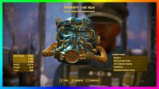 """getlinkyoutube.com-Fallout 4 - LEGENDARY Power Armor Location & Guide - """"VISIONARY'S HELM"""" Power Armor Tutorial!"""