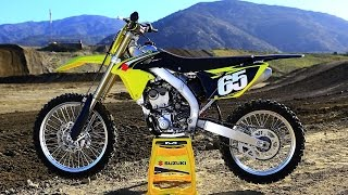 getlinkyoutube.com-2016 Suzuki RMZ 250 - The 16s Dirt Bike Magazine