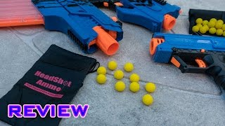 getlinkyoutube.com-[REVIEW] Headshot Ammo | Nerf Rival Round Alternative